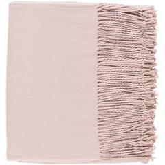 Chantel Pink Throw