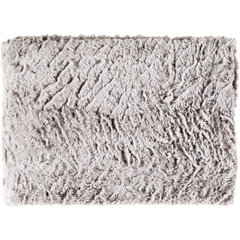 Felina Grey Faux Fur Throw