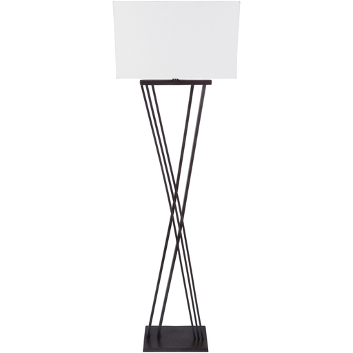 Hartley Black Floor Lamp