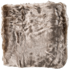 Innu Camel and Taupe Throw