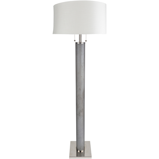Russo Gray Floor Lamp