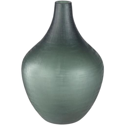 Black Glass Vase 2