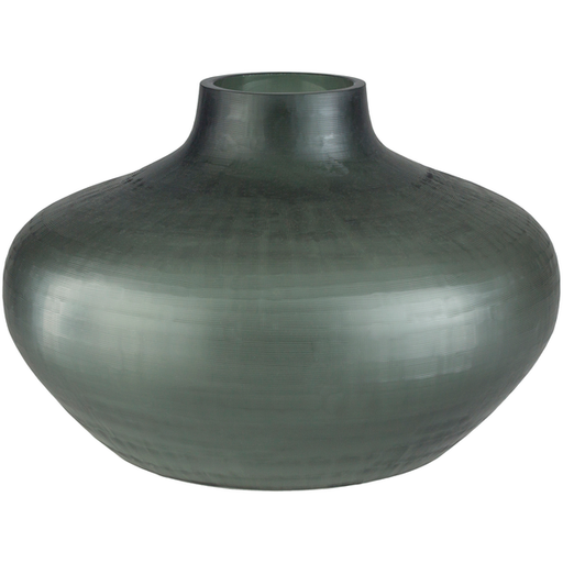 Black Glass Vase 3