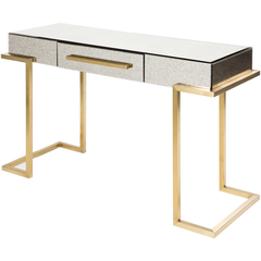 Saavedra Console - White with Drawer