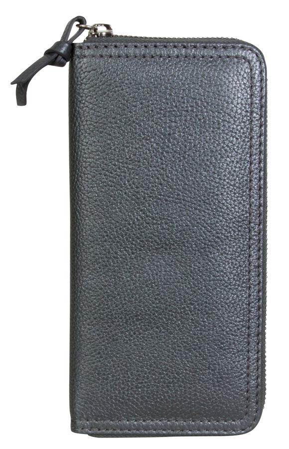 Billfold Wallet - Metallic Blue
