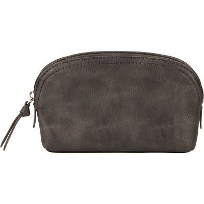 Cosmetic Pouch - Distressed Gray