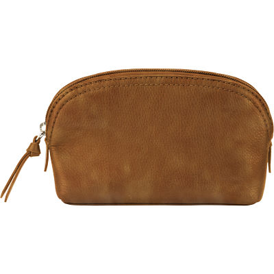 Cosmetic Pouch - Distressed Sand