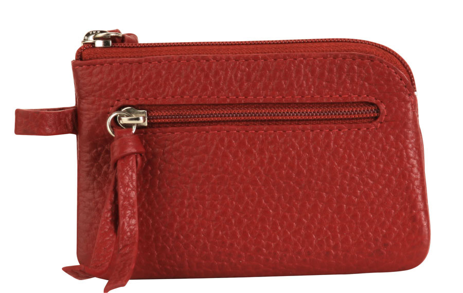 Key Pouch - Deep Red
