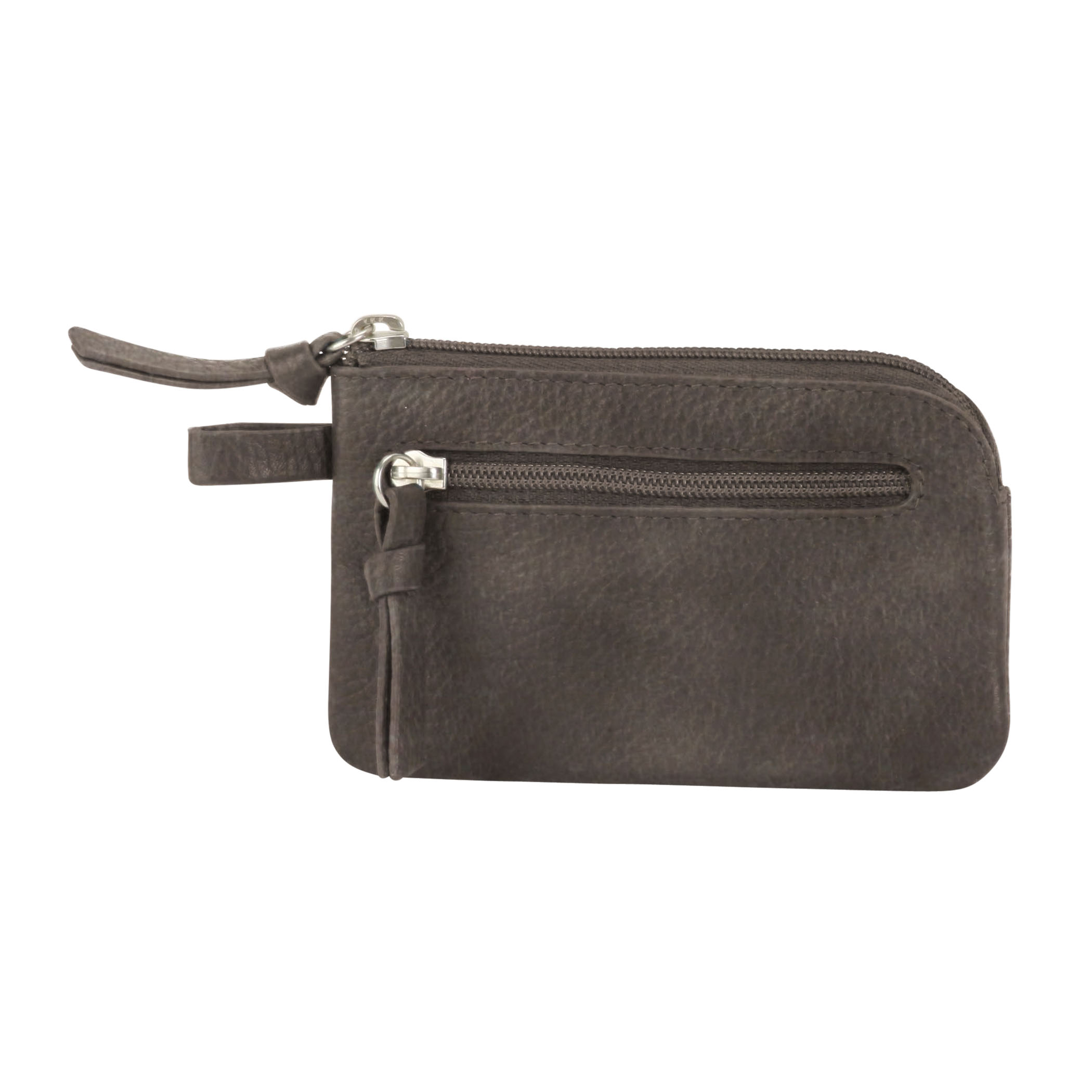 Key Pouch - Distressed Gray