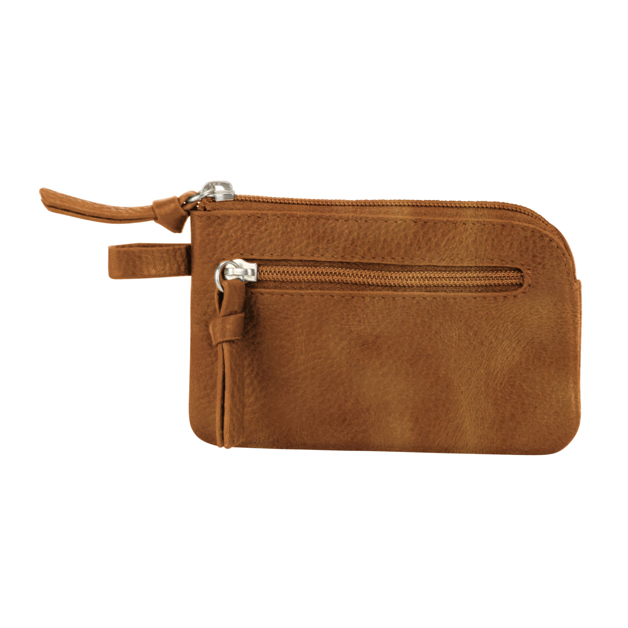 Key Pouch - Distressed Sand