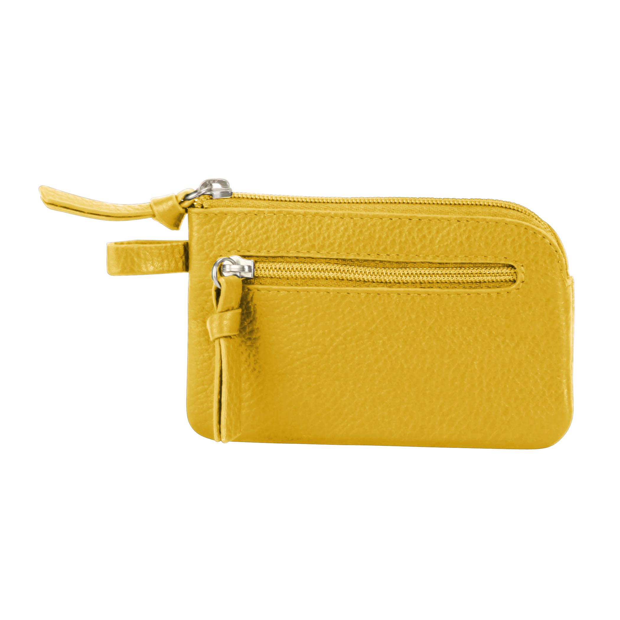 Key Pouch - Tango Yellow