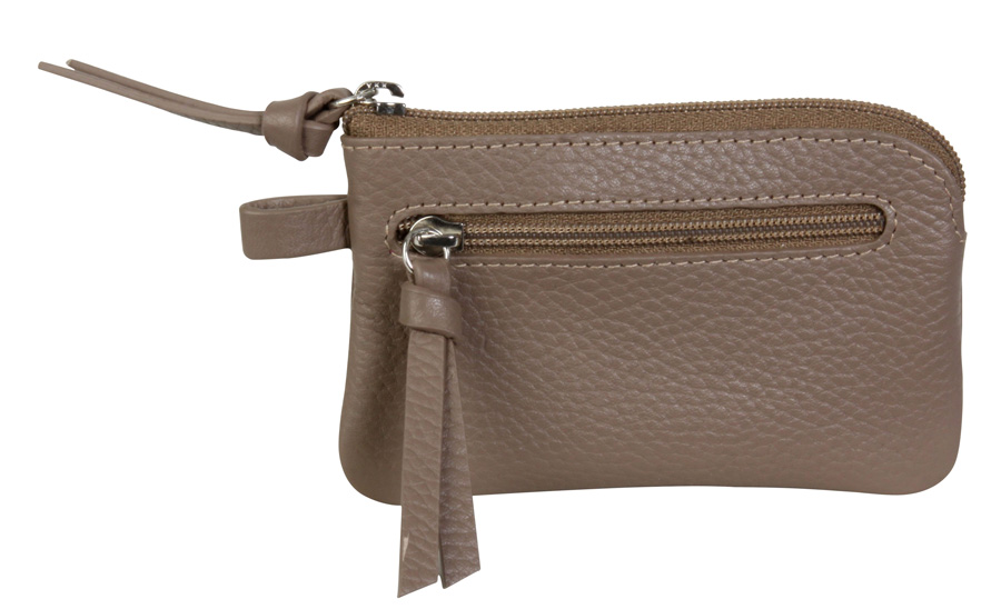 Key Pouch - Taupe