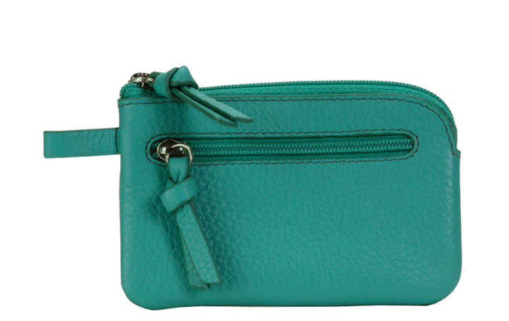 Key Pouch - Viridian Green
