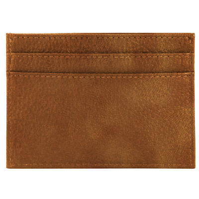 Business Card Pouch - Distressed Sand