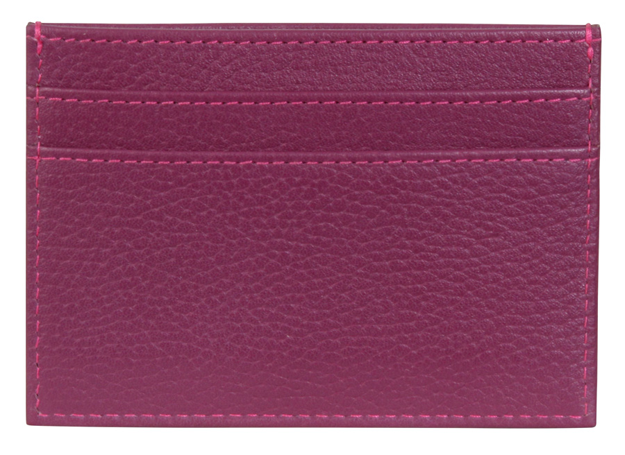 Business Card Pouch - Plum