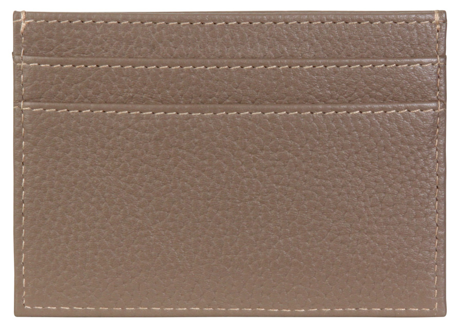 Business Card Pouch - Taupe