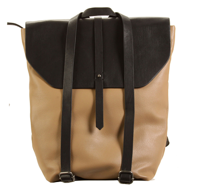 Limited Edition Primavera Backpack - Black/ Semolina