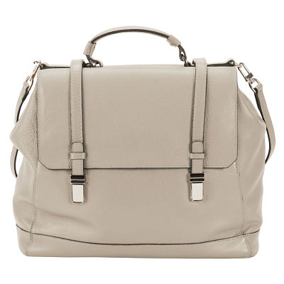 Lady Urban Large Messenger - Pearl Gray