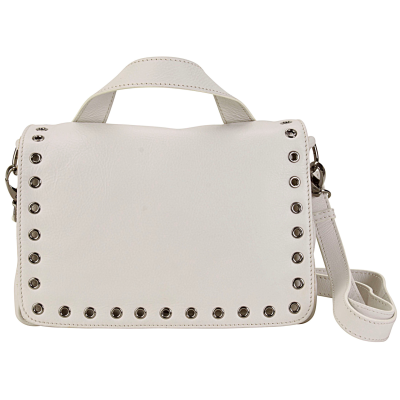 Grommet Messenger Bag - Ivory