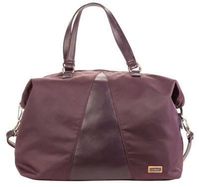 Valeria's Duffle - Plum Perfect