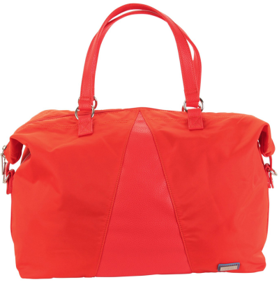 Valeria's Duffle - Fiery Red Solid