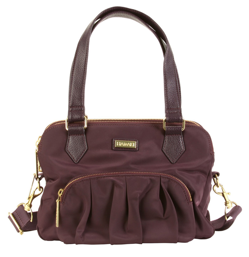 French Quarter Sac - Plum Perfect Solid