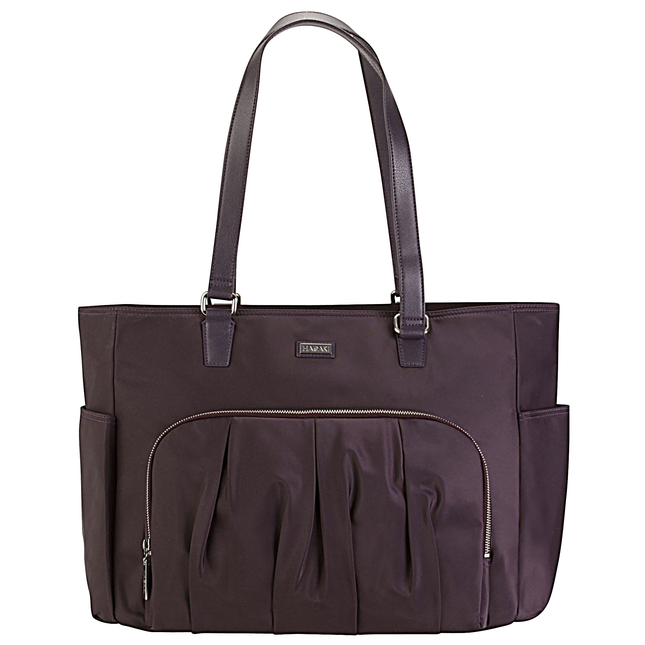 Work & Play Tote - Plum Perfect