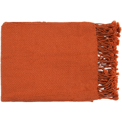 Turner Burnt Orange Throw