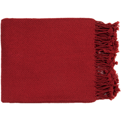 Turner Bright Red Throw