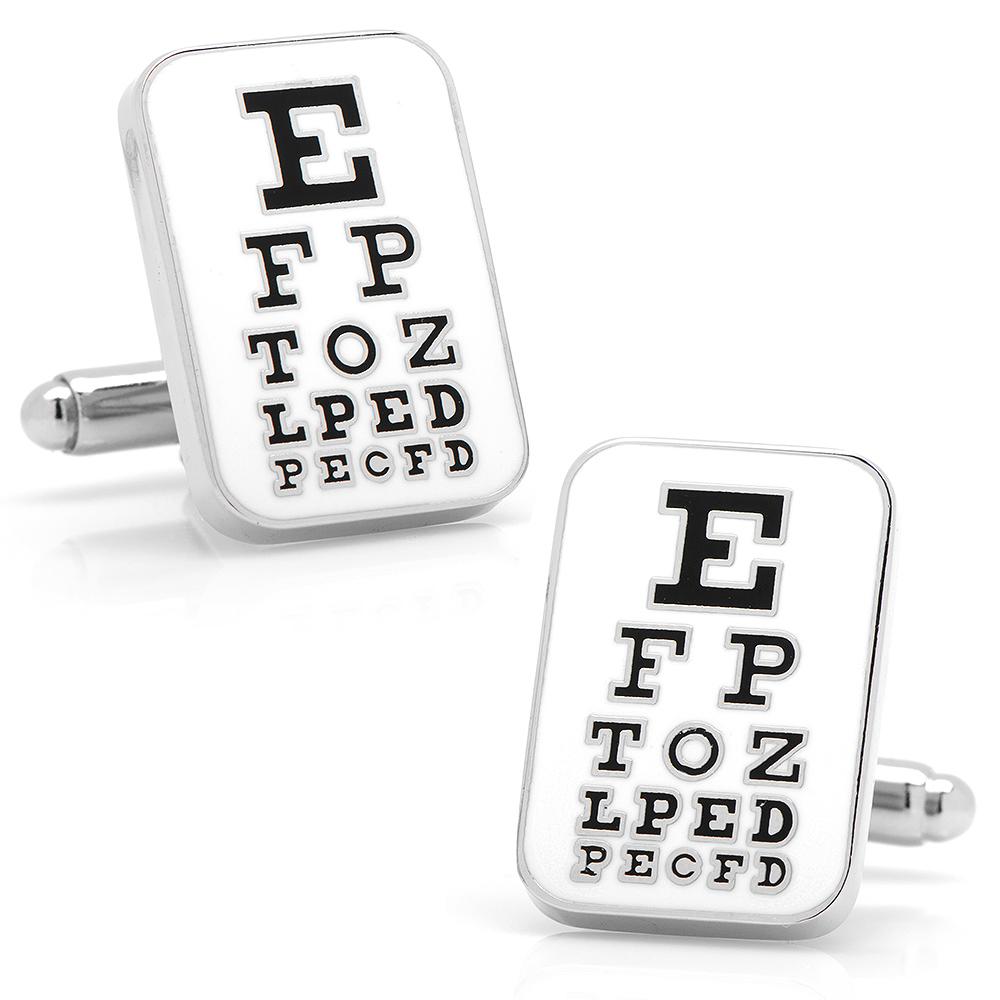 Eye Chart Cufflinks