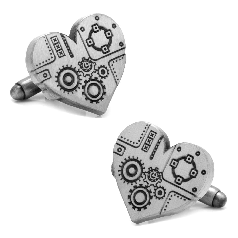 Steampunk Heart Cufflinks