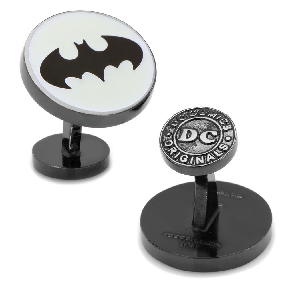 Batman Signal Glow-In-The-Dark Cufflinks