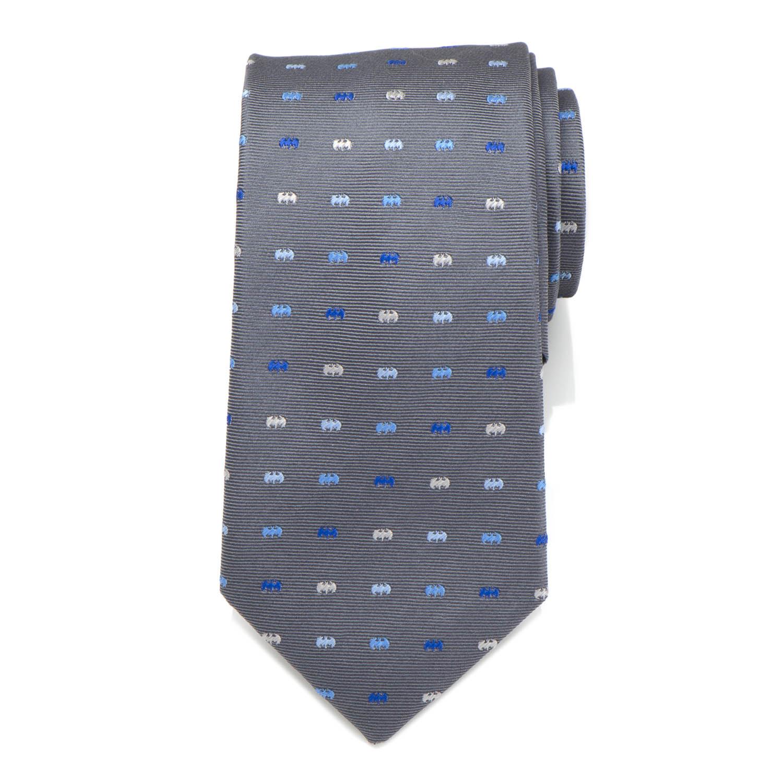Batman Icon Gray Mens Tie