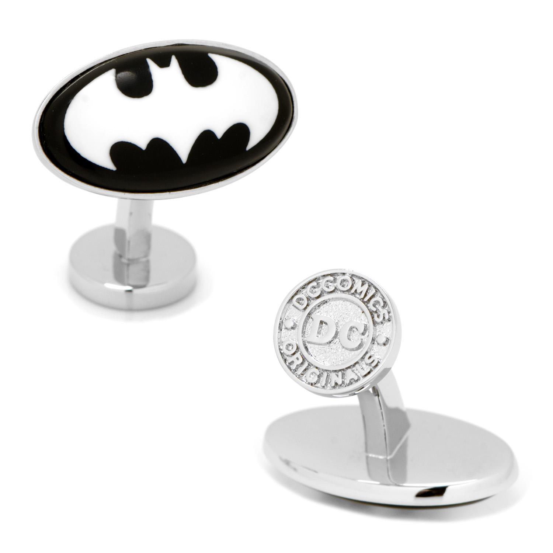 Batman Etched Onyx Cufflinks