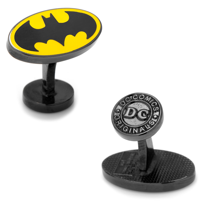 Transparent Enamel Batman Cufflinks