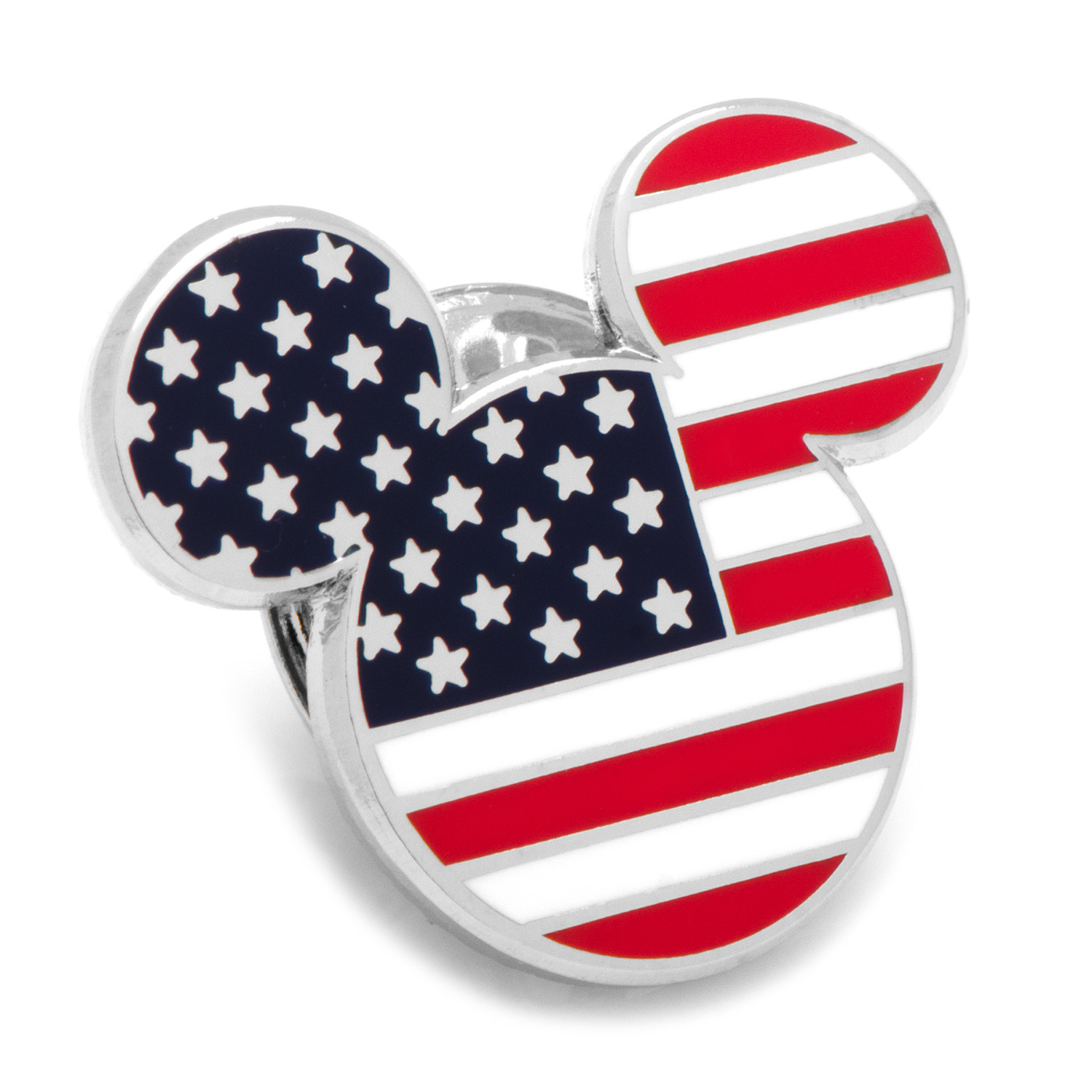 Stars and Stripes Mickey Mouse Lapel Pin