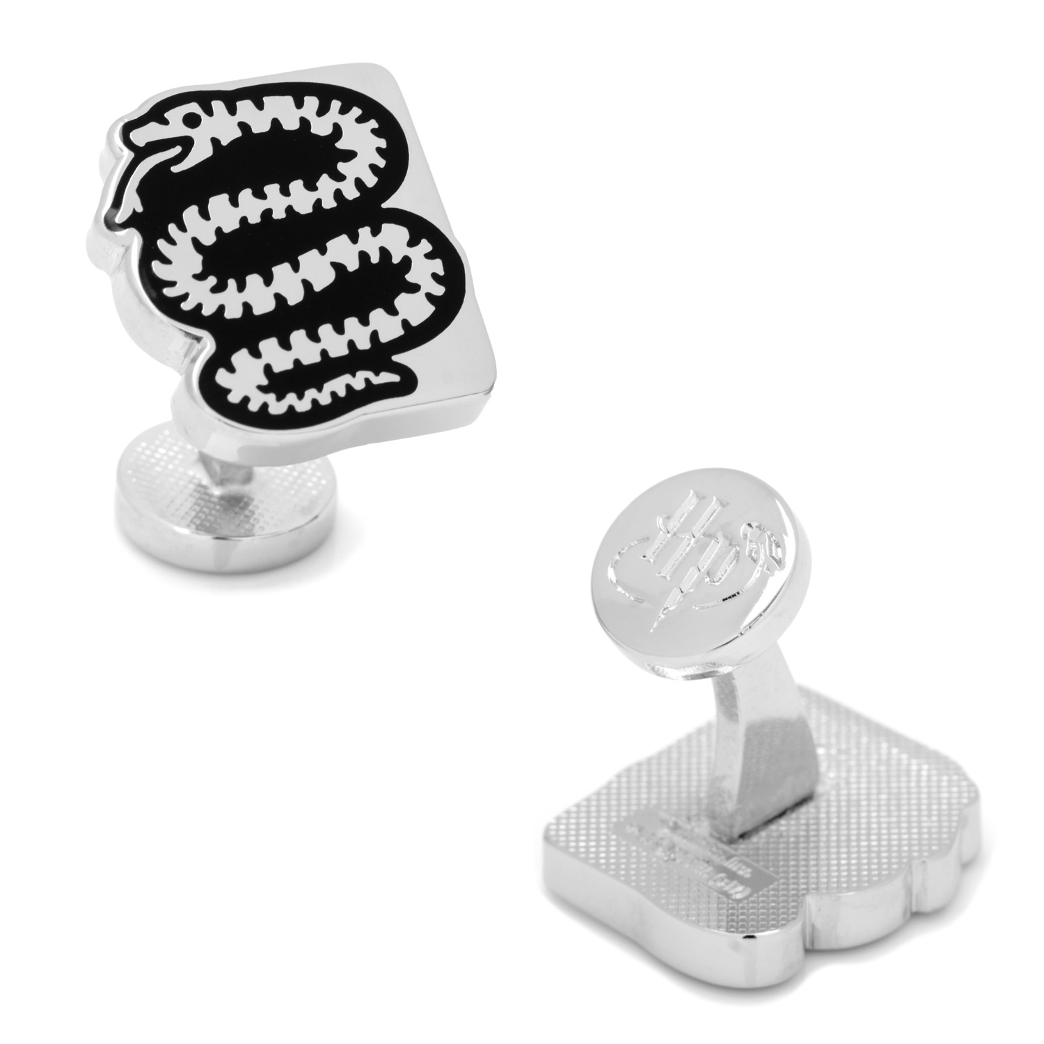 Harry Potter Slytherin House Snake Cufflinks