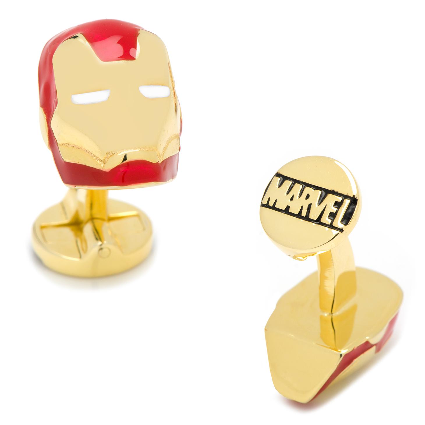 3D Iron Man Cufflinks