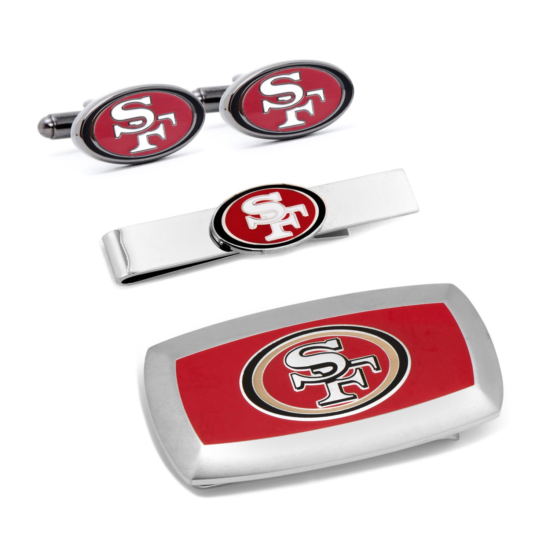 San Francisco 49er's 3-Piece Cushion Gift Set