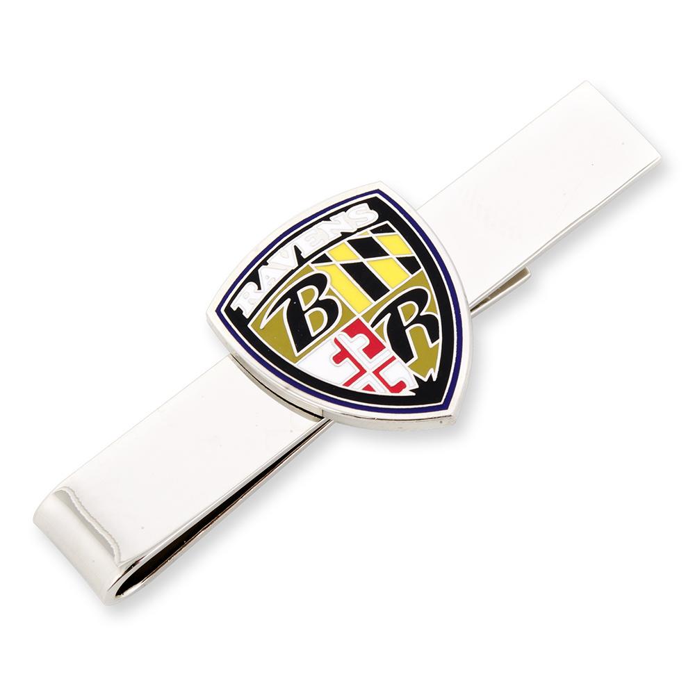 Baltimore Ravens Shield Tie Bar