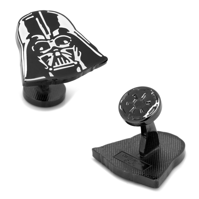 Glow Darth Vader Helmet Cufflinks