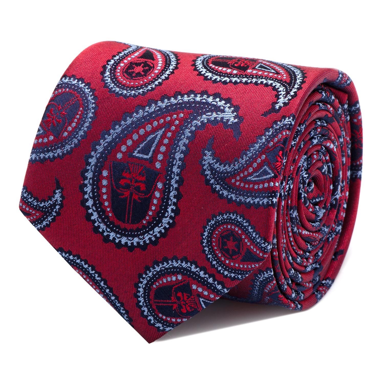 Darth Vader Red Paisley Tie