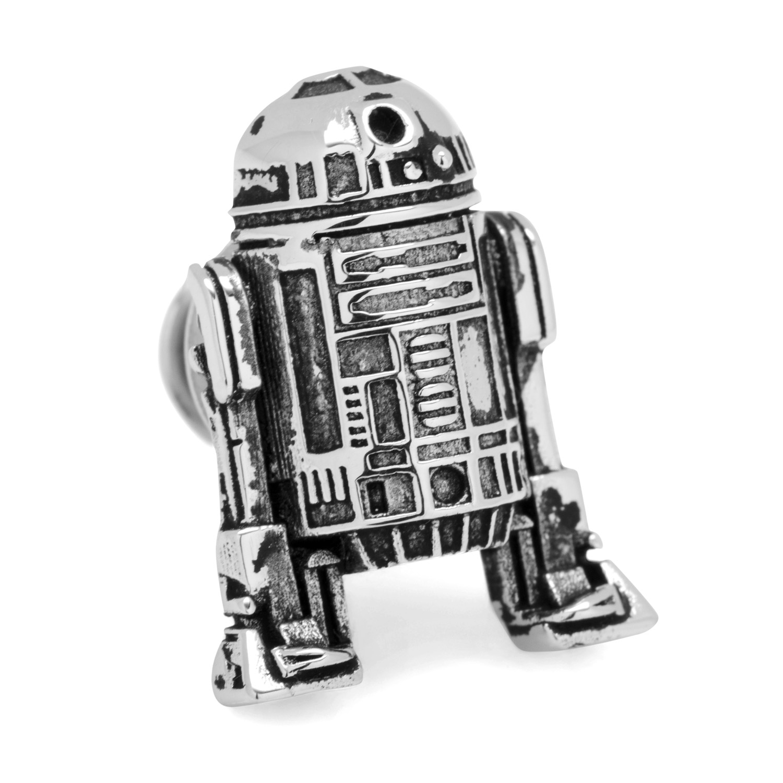 3D R2D2 Lapel Pin