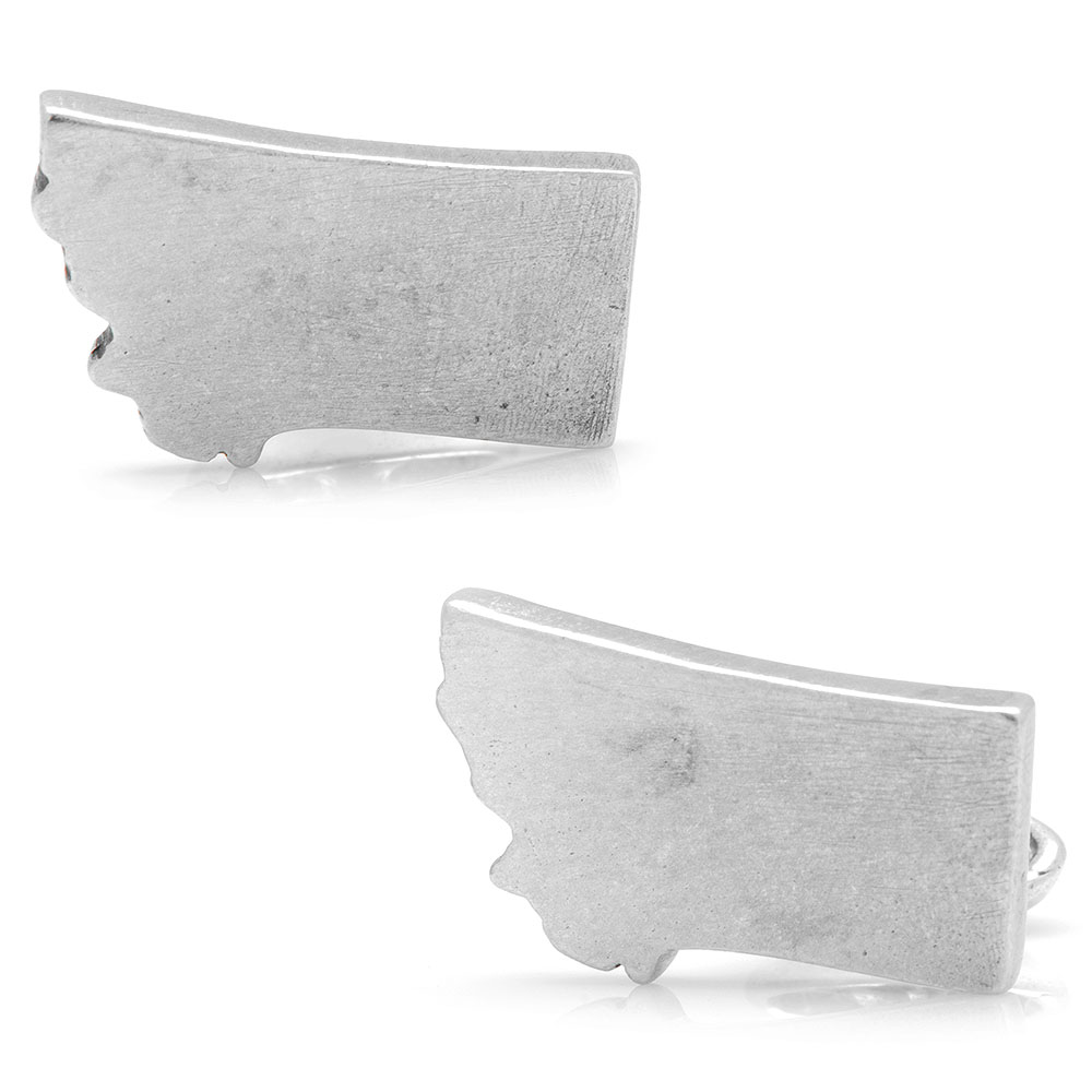 Pewter Montana Cufflinks