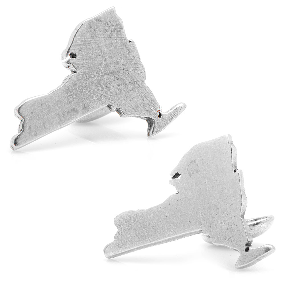 Pewter New York Cufflinks