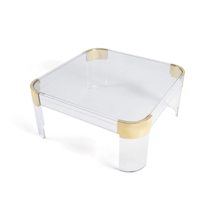 Castello Acrylic Coffee Table