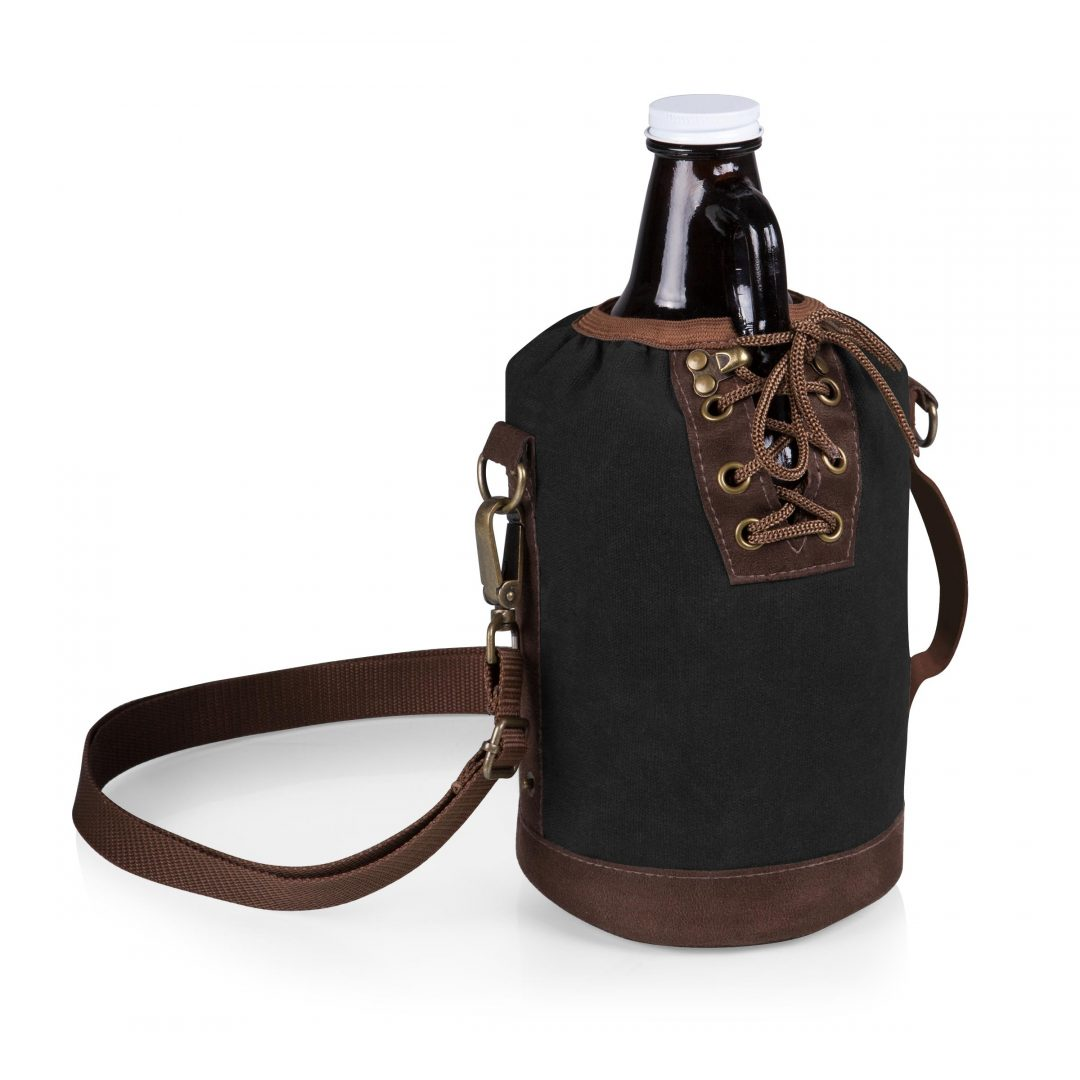 Growler Tote with 64-oz. Glass Growler