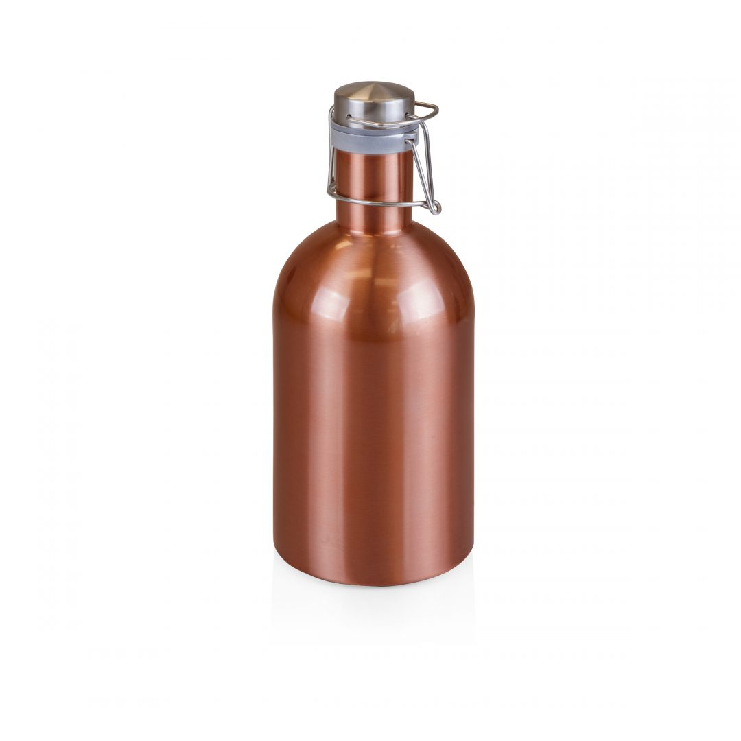 Stainless Steel Growler, 64-oz.
