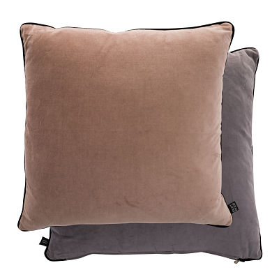 Veronica Duo Cushion - Mauve / Dark Grey