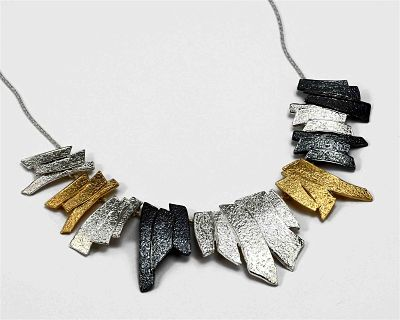 Multi Tonal Gold and Silver Necklace
